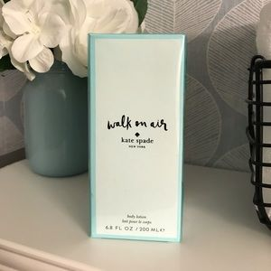 Kate Spade Walk on air body lotion 6.8 OZ sealed